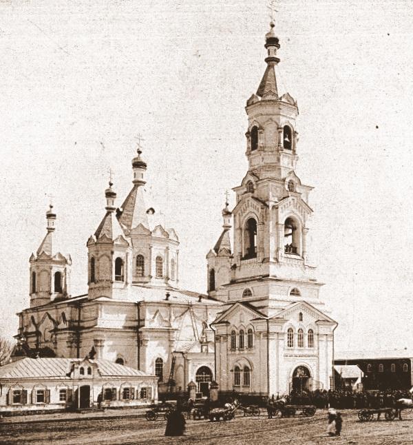 Вознесенский собор с колокольней