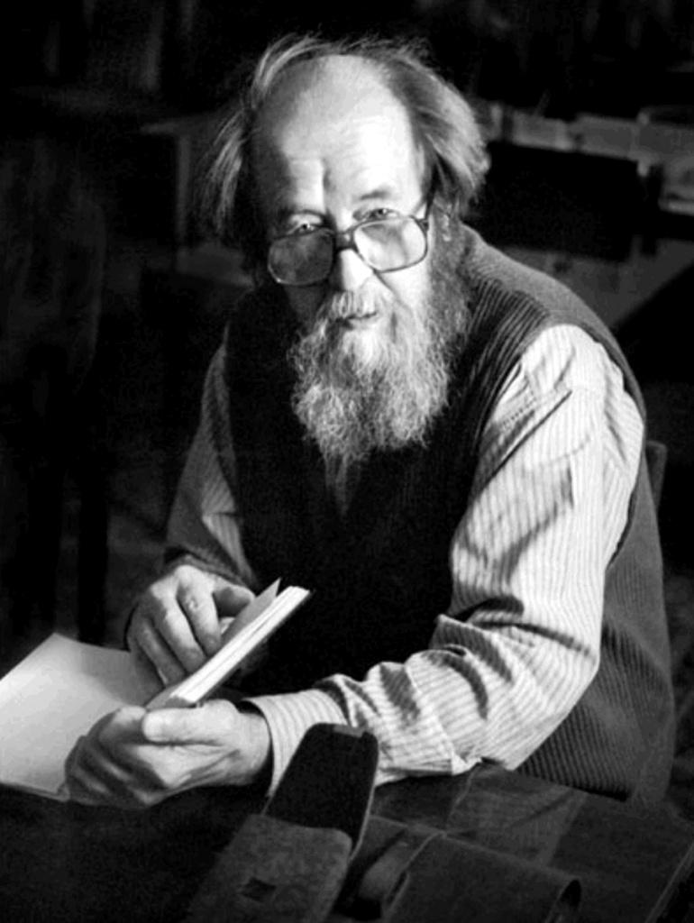 А.И. Солженицын в Рязани, 1994 г. Автор Евгений Каширин