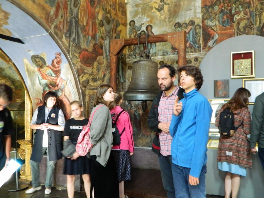 Ссыльный набатный колокол. Церковь Димитрия на Крови. Углич, Ярославская область