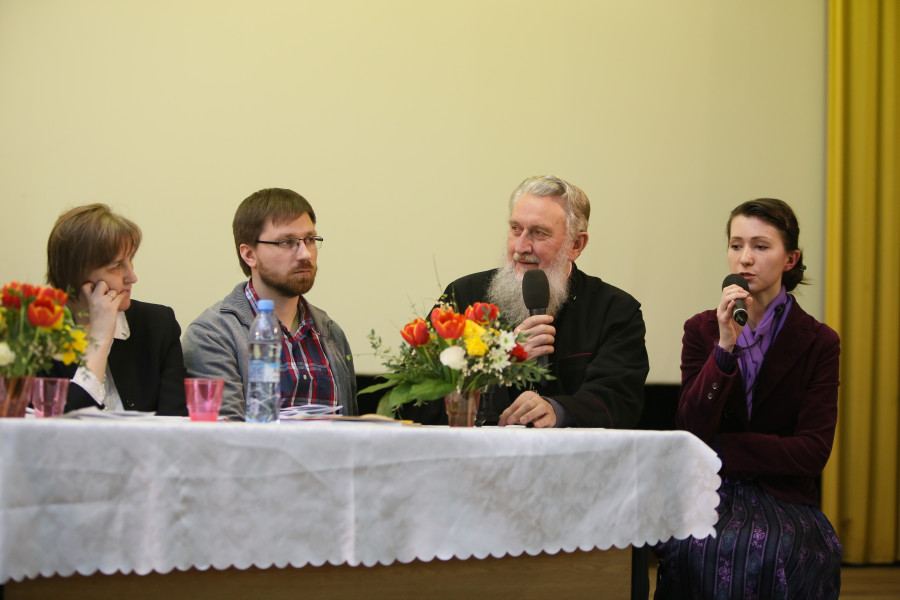 """President of the Board of the Orthodox Association """"Lord's Army"""" Archpriest Vasile Mihoc"""