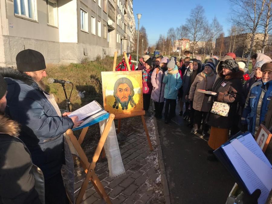 Молитва памяти: Архангельск