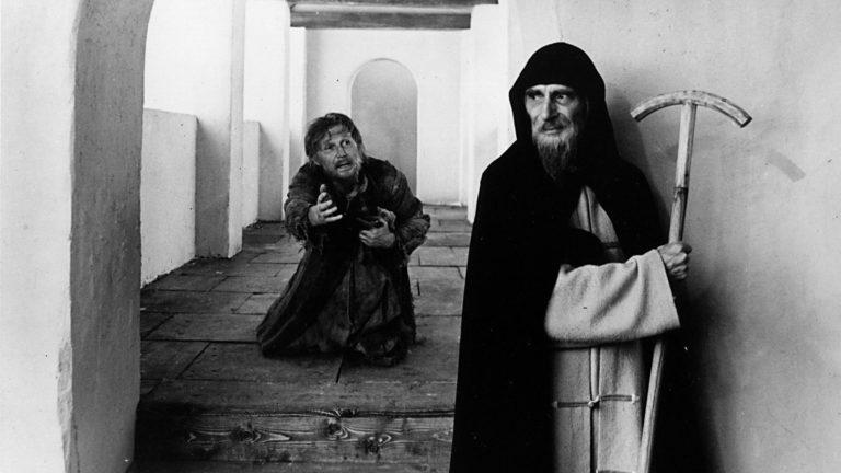 Кадр из фильма Андрея Тарковского «Андрей Рублёв»