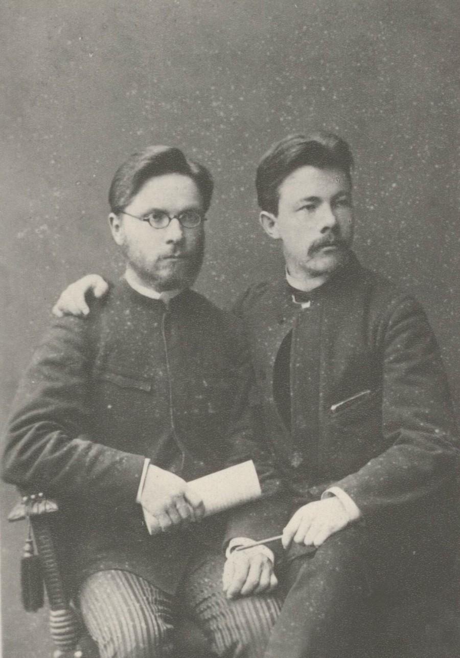 Пётр Павлович Кудрявцев и Константин Маркович Аггеев