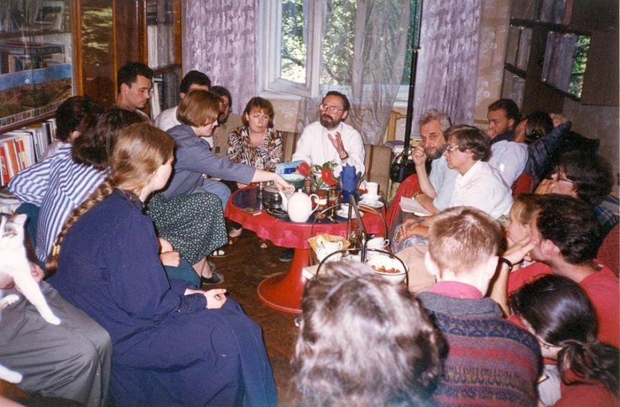 Огласительная встреча. Рига, 1995 год