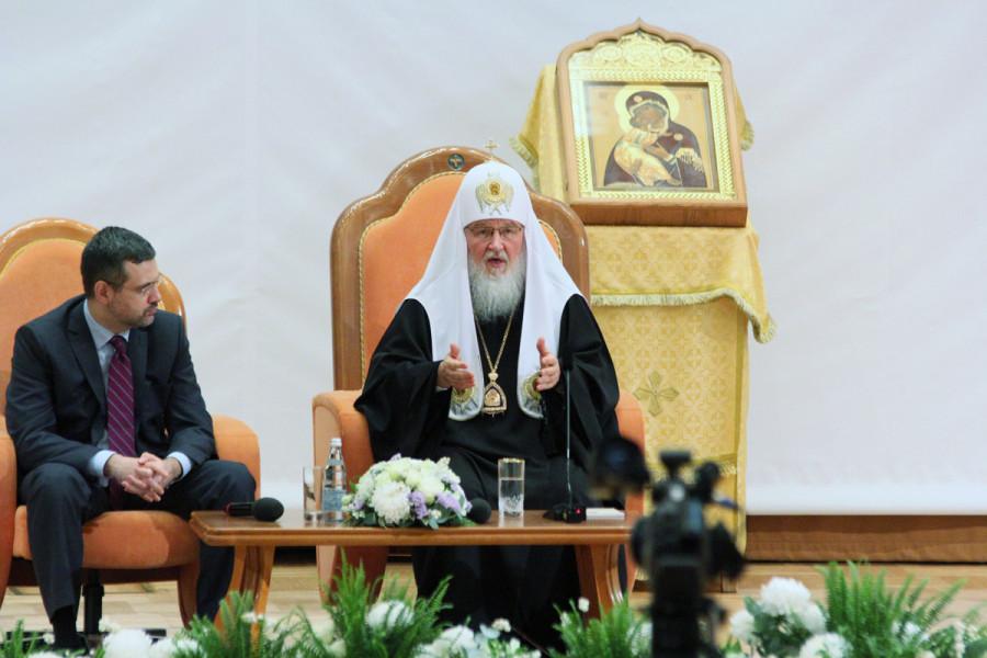 Владимир Легойда, патриарх Кирилл