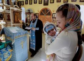 В каком возрасте крестить ребенка?