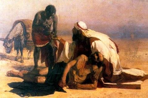 В.И. Суриков. Милосердный самарянин