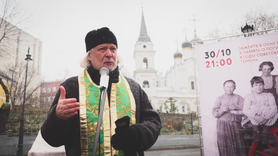 Протоиерей Алексей Уминский, настоятель храма Святой Троицы в Хохлах