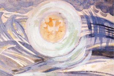 Сотворение мира. Деталь. 1945-1947