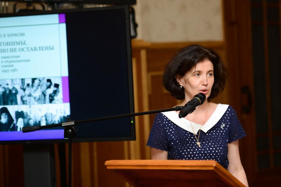 Нина-Инна Ткаченко, председатель Свято-Силуановского братства