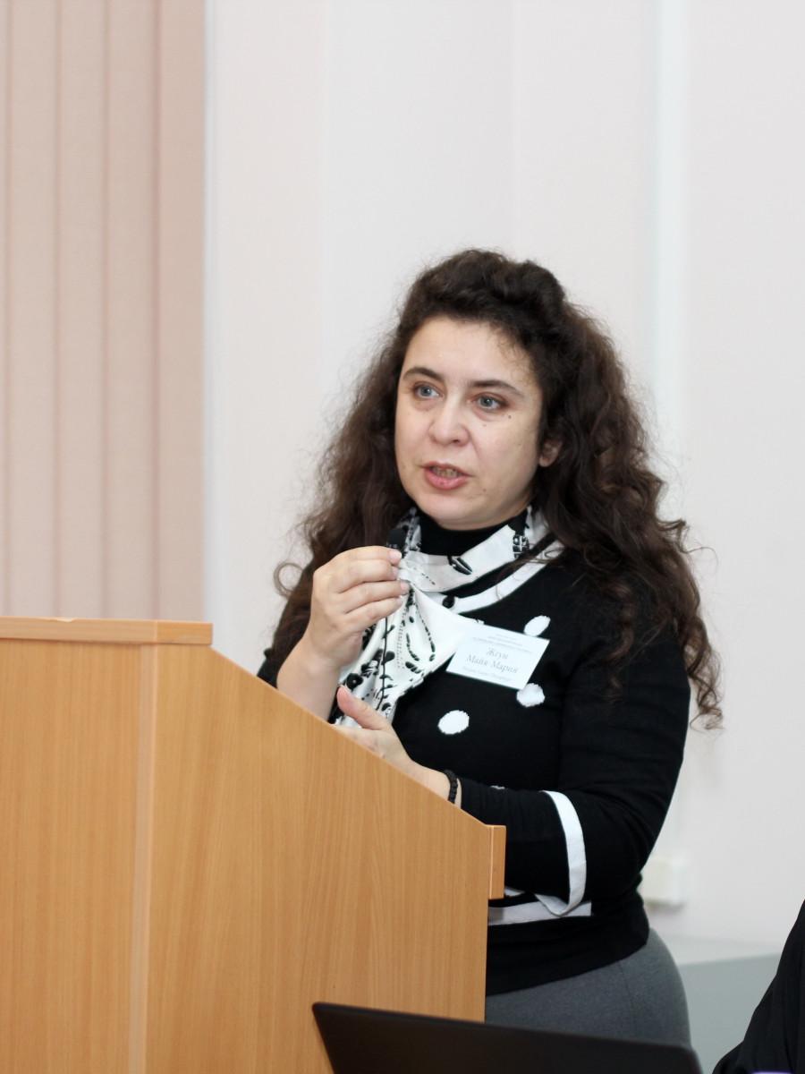 Исследователь наследия прп. Паисия Величковского Майя-Мария Жгун