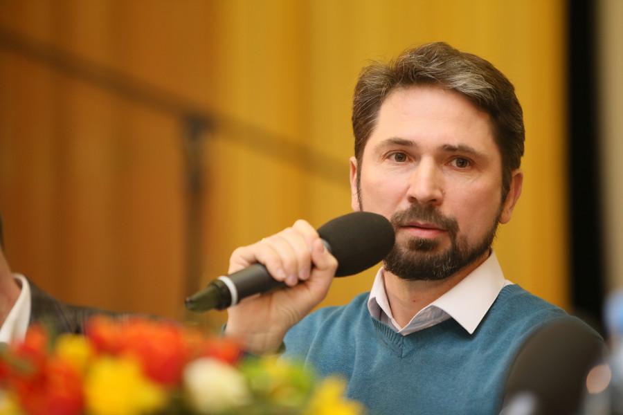 Председатель Введенского братства Алексей Наумов