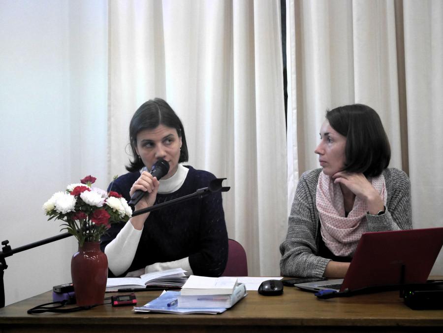 Ирина Елисеева и Юлия Антипина