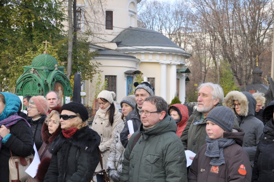 Ваганьковское кладбище.