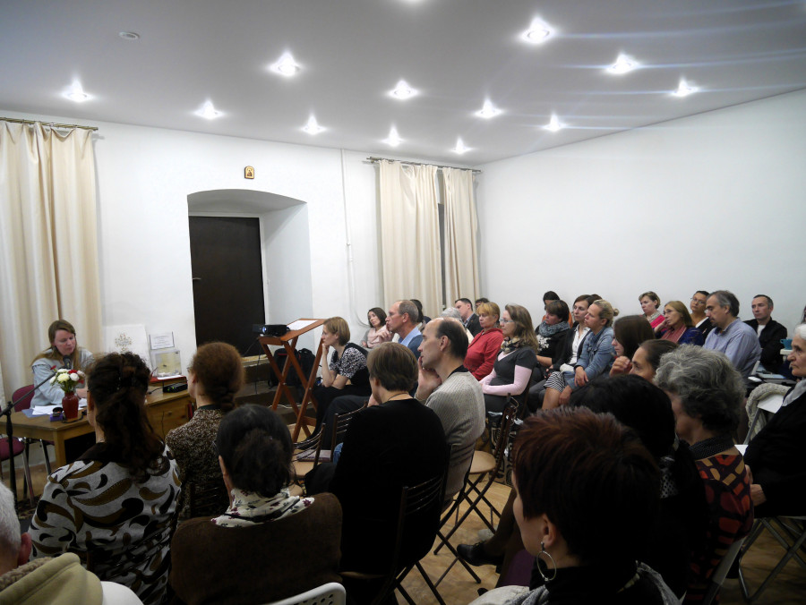 Слушатели открытой лекции