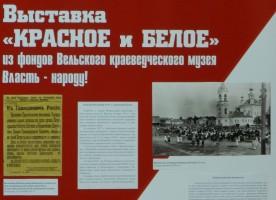 В Вельске открылась выставка «Красное и белое»
