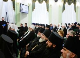 Патриарх Кирилл посетил в СПбДА вечер памяти, посвященный 40-летию кончины митрополита ...
