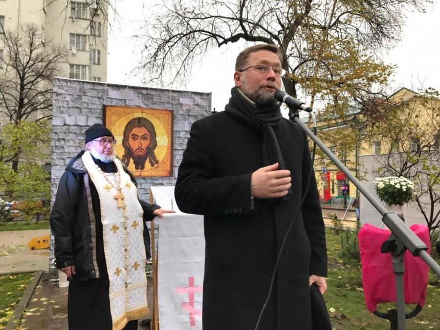 Председатель Преображенского братства Дмитрий Гасак