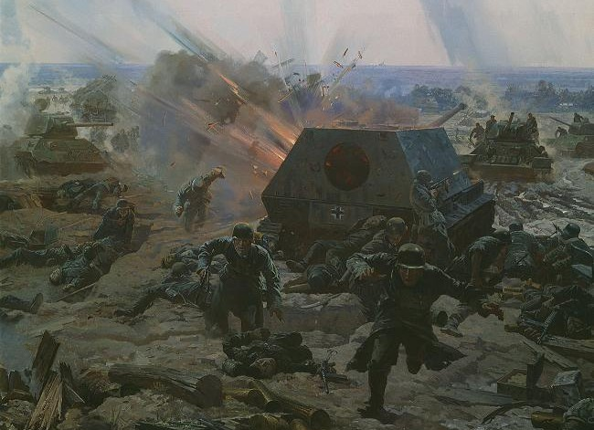 Диорама «Битва за Киев. Лютежский плацдарм. 1943 год»