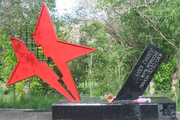Аллея памяти жертв репрессий
