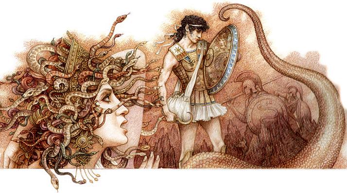 Персей и Медуза Горгона