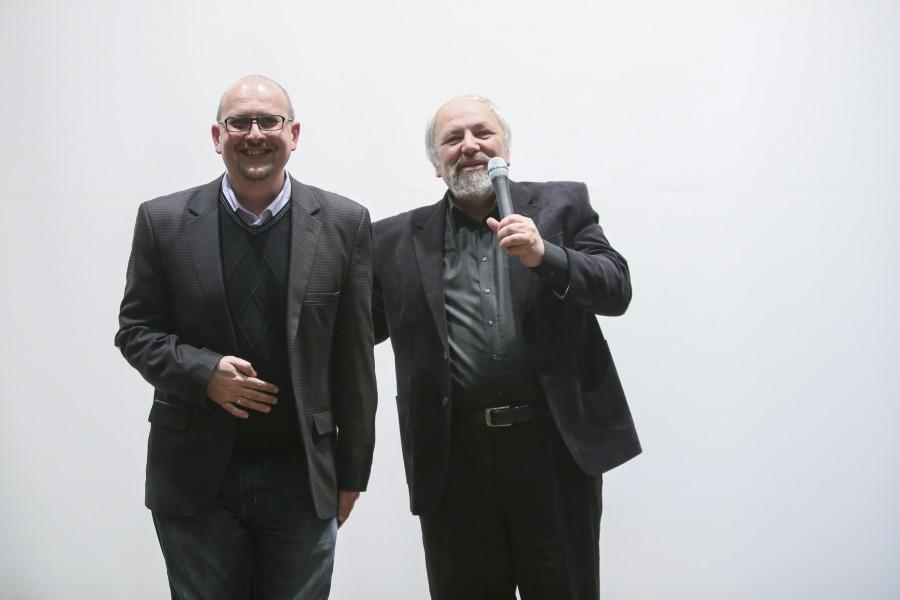 Теймур Джалилов и Феликс Разумовский – члены творческого коллектива телепрограммы «Кто мы?»