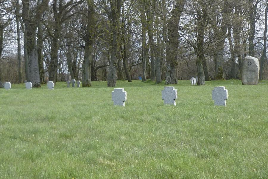 Немецкое кладбище в Приморске 1941-1945 гг.