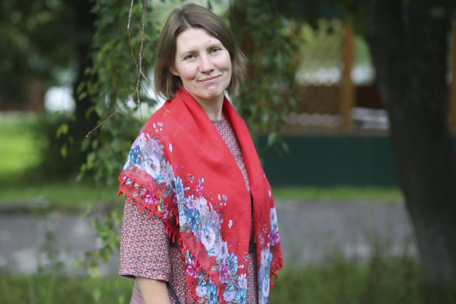 Директор подросткового лагеря Ольга Владимировна Синицына