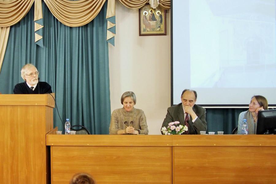 Выступление профессора Федора Козырева