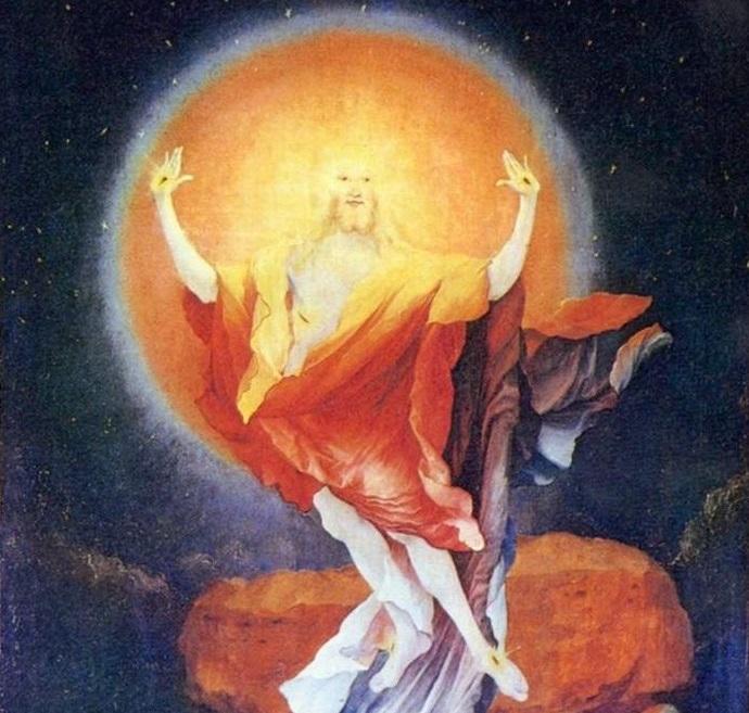 Маттиас Грюневальд. Воскресение. Изенгеймский алтарь. Фото: https://ru.wikipedia.org/