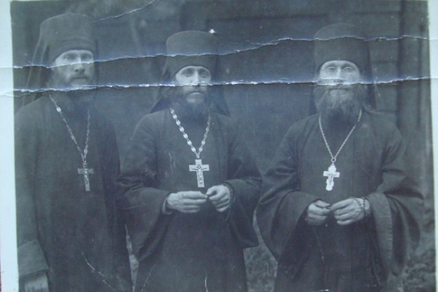 Основатели Александро-Невского братства иеромонахи Гурий (Егоров), Иннокентий (Тихонов), Лев (Егоров)