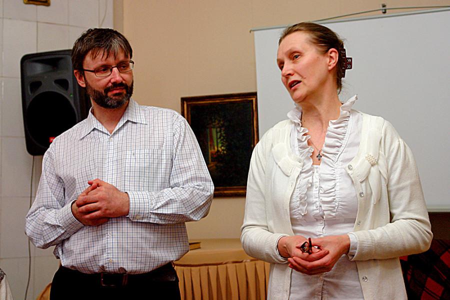 Приветственное слово ведущих - Олега Глаголева и Екатерины Недзельской
