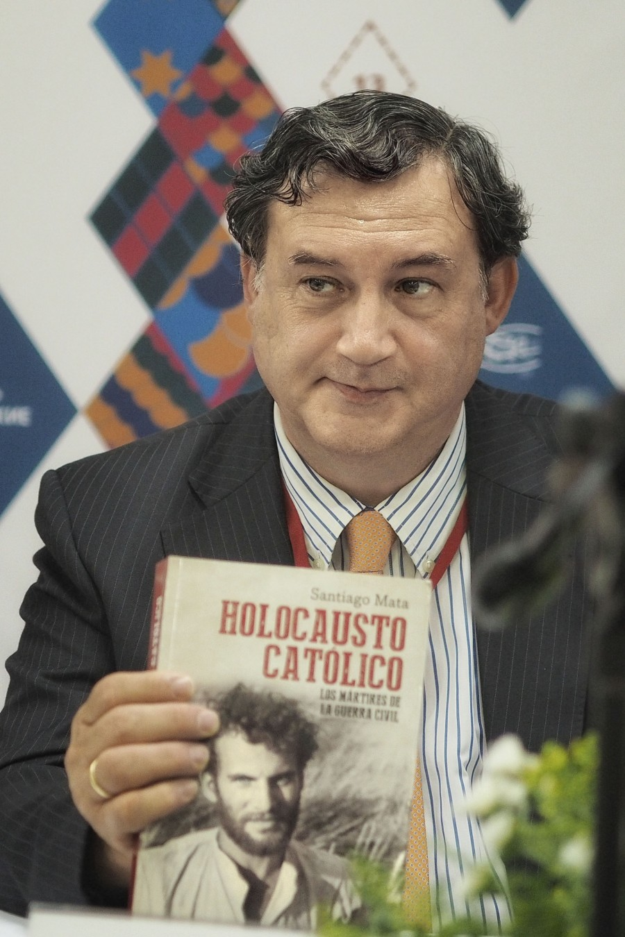 "Santiago Mata, Author of a book entitled ""The Catholic Holocaust"" and other books on the history of the Spanish Church"