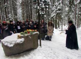 Память новомучеников и исповедников почтили на Левашовской пустоши Санкт-Петербурга