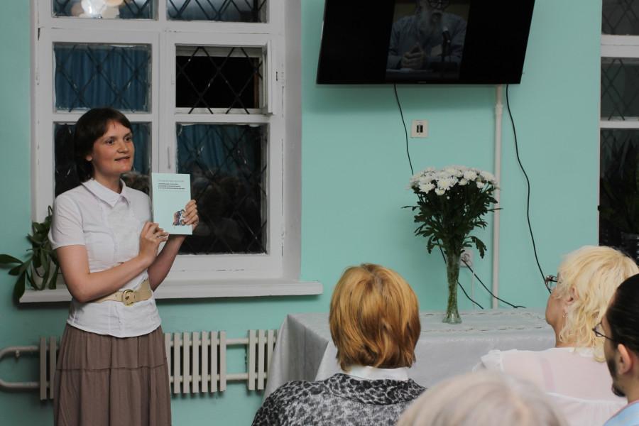 Ольга-Олеся Сидорова, председатель Воскресенского братства