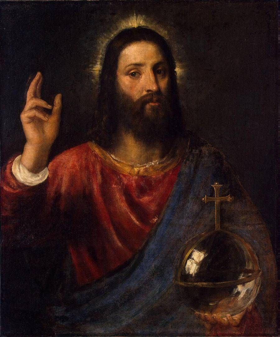 Тициан. Христос Вседержитель