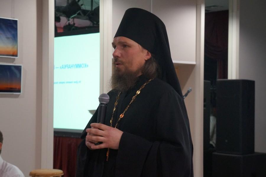 Иеромонах Ермоген (Сёмин), настоятель храма Святых новомучеников и исповедников Российских, расположенного на полигоне «Коммунарка»