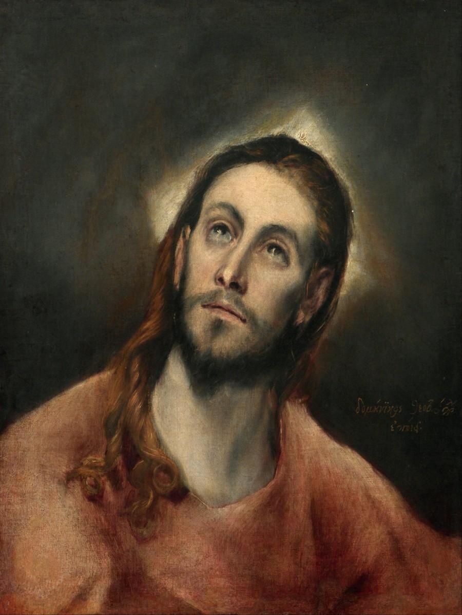 Эль Греко. Молящийся Христос