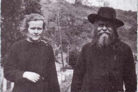 Прот. Сергий Булгаков и сестра Иоанна Рейтлингер