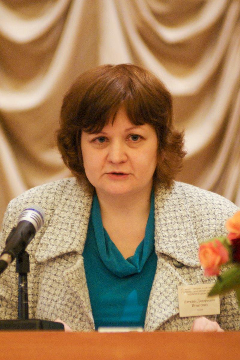 Н.Д. Игнатович, преподаватель Богословского колледжа СФИ