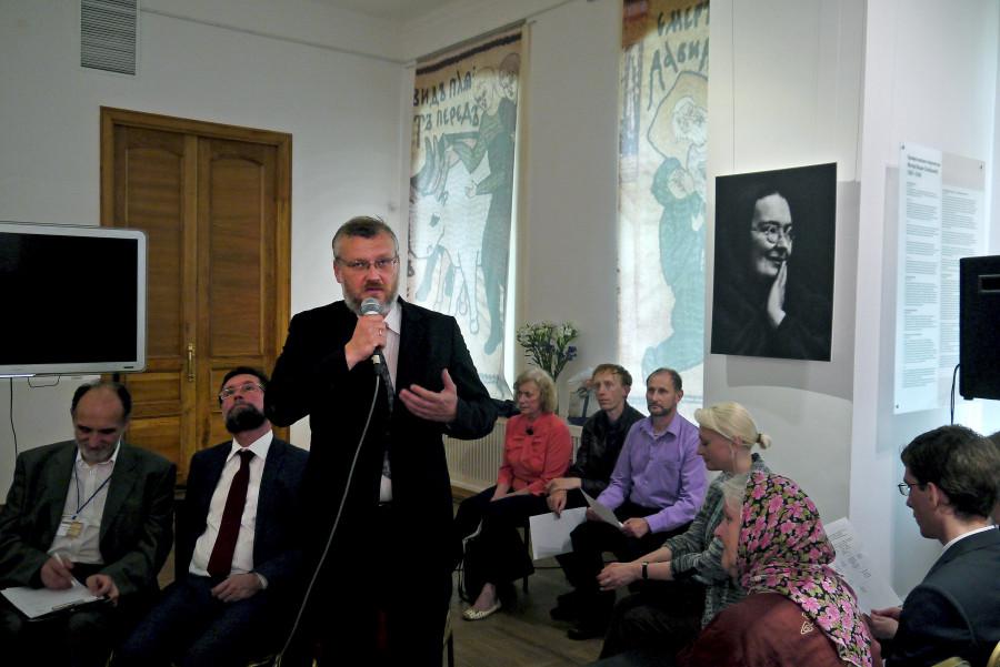 Александр Буров, сотрудник Государственного музея истории религии