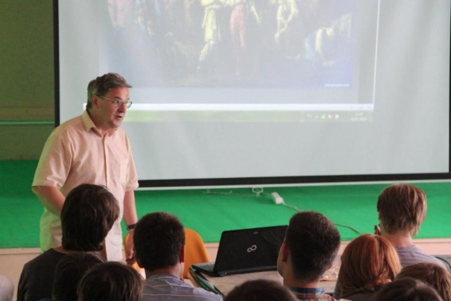 Общий лагерь, лекция по истории Древней Руси