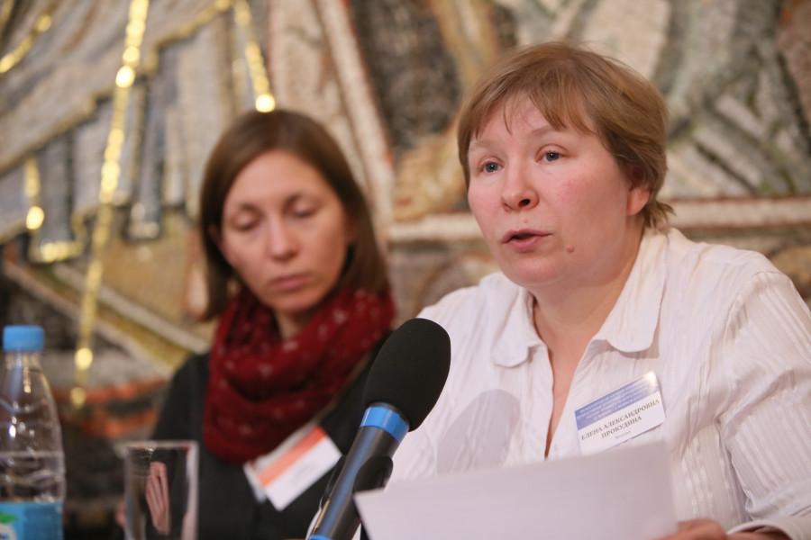 Елена Прокудина, бакалавр теологии, СФИ