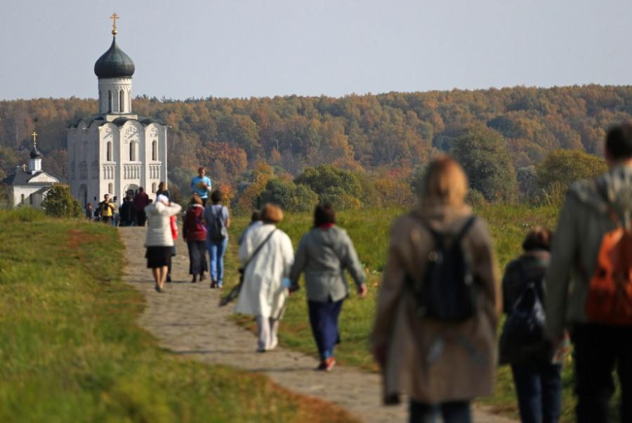 Церкви Покрова на Нерли. Фото: Владимир Смирнов/ТАСС