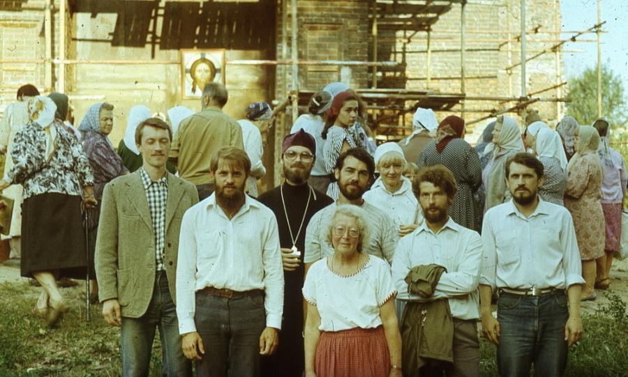 На I Преображенском соборе братства. 19 августа 1990 года