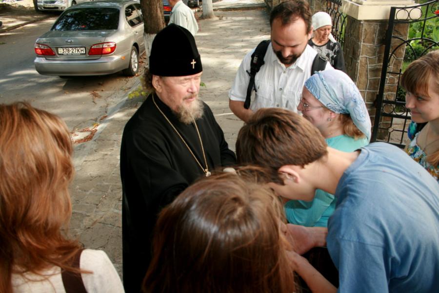 Встреча с митрополитом Симферопольским и Крымским Лазарем
