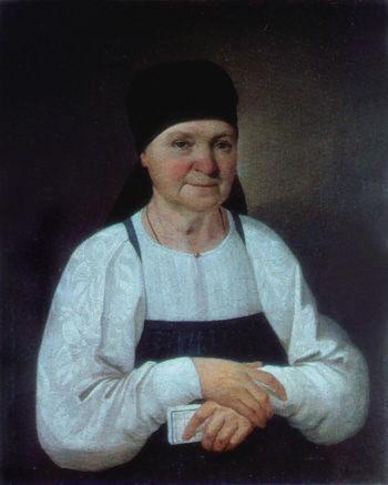 Портрет старушки. Н. Мыльников