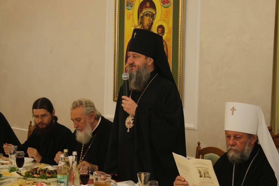 Архиепископ Тираспольский и Дубоссарский Савва приветствует участников конференции