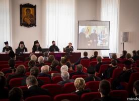 В Минской духовной семинарии прошла конференция, посвященная памяти протопресвитера ...