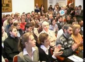 Видеорепортаж о XVII ежегодной студенческой научной конференции «Сретенские чтения»